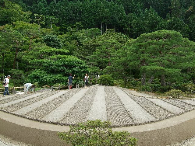 銀閣寺 庭 No.1