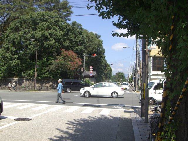 丸太町と寺町の交差点