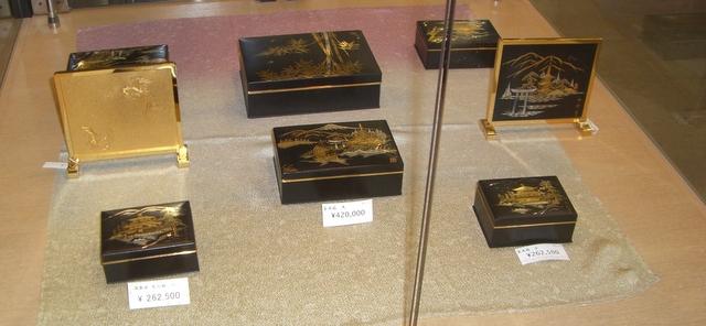 京象嵌の製品