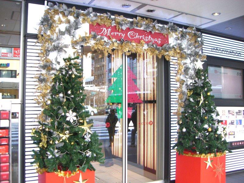 クリスマスの飾りが華やか