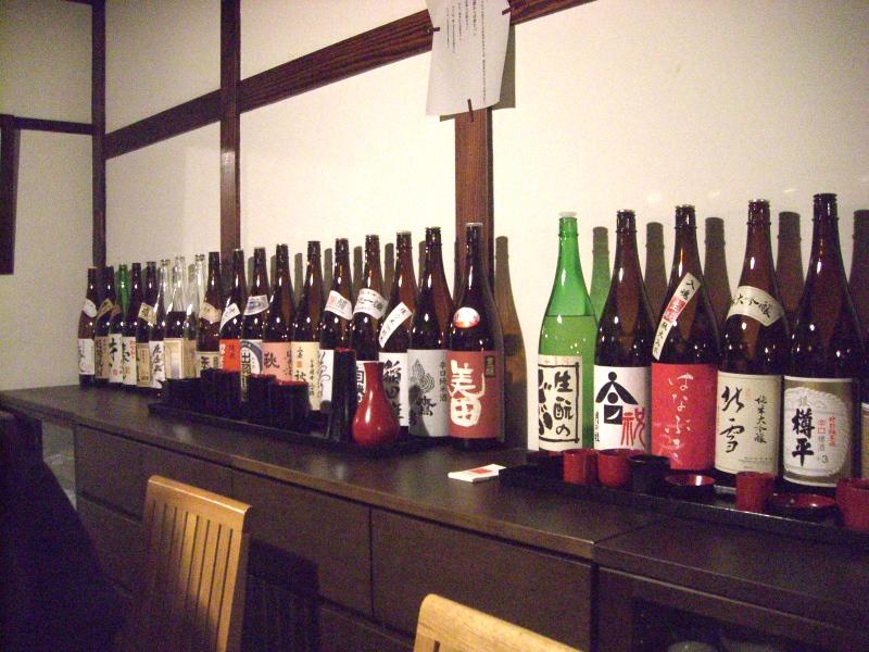 好みの日本酒を漆器の盃でいただくと最高