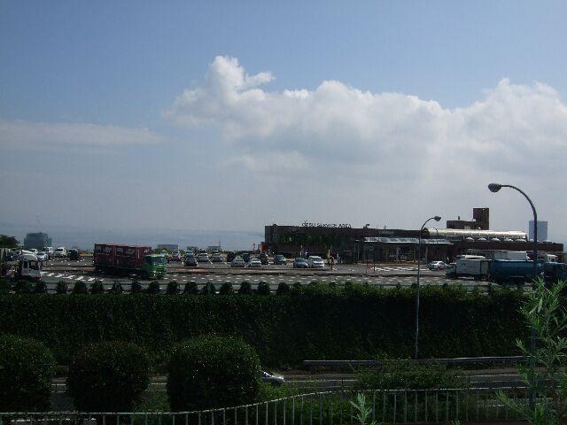 琵琶湖に向かって No2