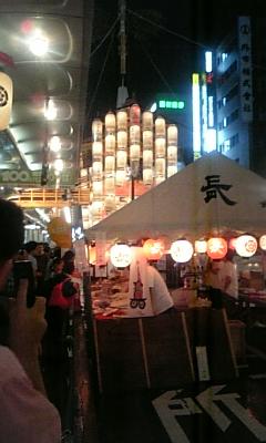 祇園祭り_四条烏丸(The Gion festival)