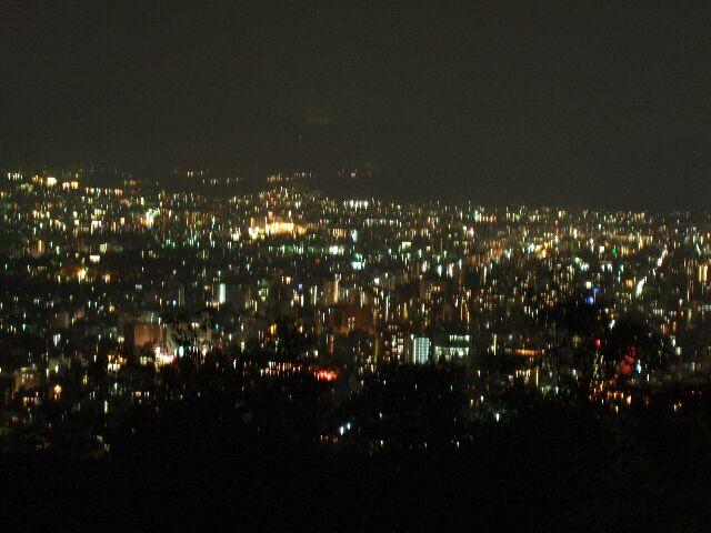 将軍塚_夜景
