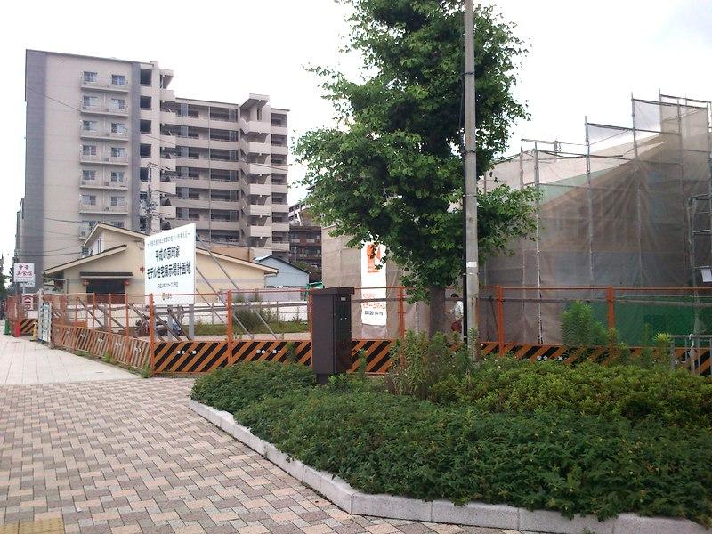 ここから5−6分で京都駅に