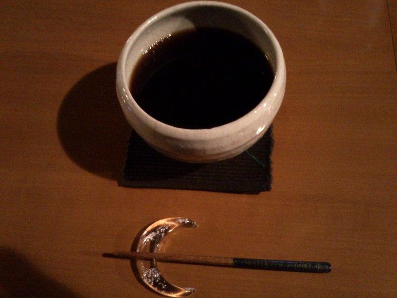 コーヒー。器が洒落てます
