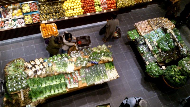野菜や果物が豊富