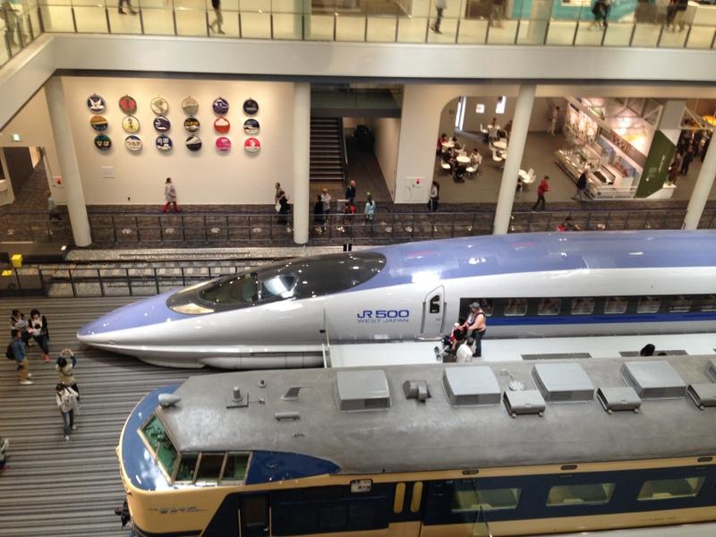 500系新幹線  ほかに0系、100系もあり