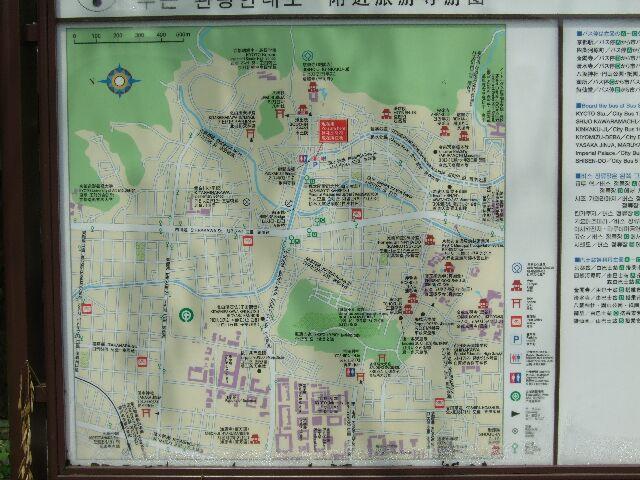銀閣寺MAP